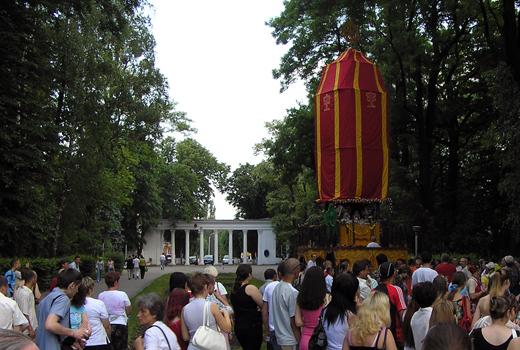Ратха-ятра в Виннице. Май 2007