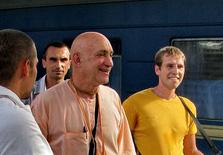 Дханешвара прабху в Симферополе. 2010