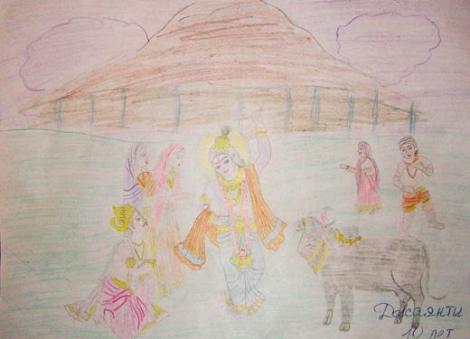 рисунок Джаянти