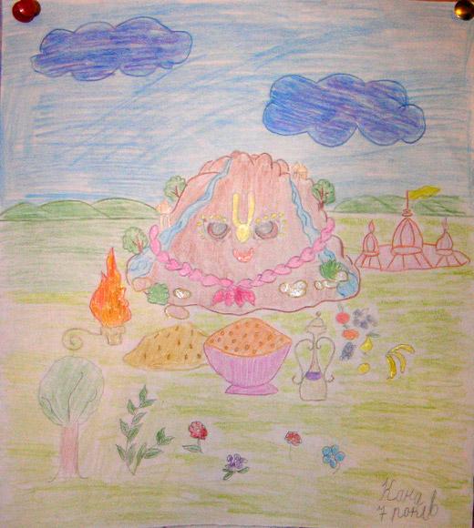 рисунок Каны