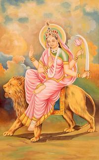 Богиня Катьяяни