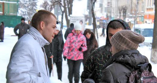 Анатолий прабху с участником истории о Сверхдуше